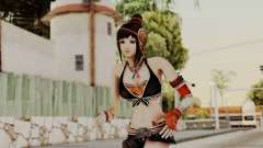 Dynasty Warriors 8 - Bao Sannian Black Costume for GTA San Andreas
