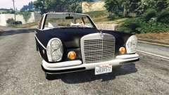 Mercedes-Benz 300SEL 6.3 v1.2.3 for GTA 5