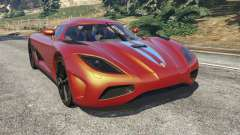 Koenigsegg Agera v0.8.5 [Early Beta] for GTA 5