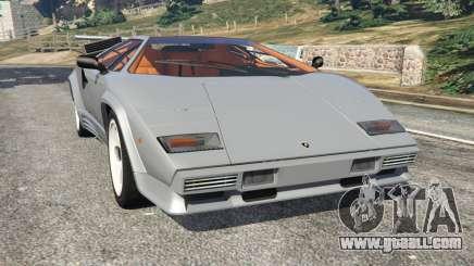 Lamborghini Countach LP500 QV 1988 v1.2 for GTA 5