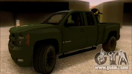 Chevrolet Silverado 2500 Best Edition for GTA San Andreas