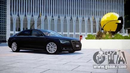 Audi A8L W12 2013 for GTA 4