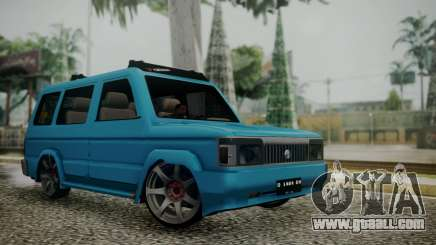 Toyota Kijang Tuned Stance for GTA San Andreas