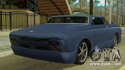 Kounts Pickup PaintJob for GTA San Andreas