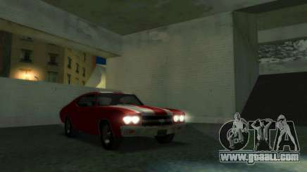 Chevrolet Chevelle SS [Winter] for GTA San Andreas