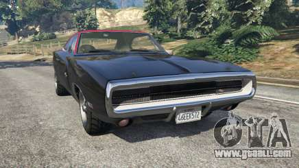 Dodge Charger RT 1970 v3.1 for GTA 5