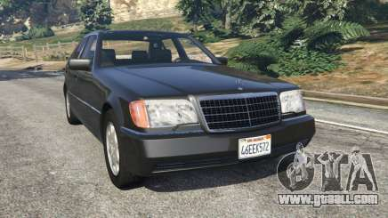 Mercedes-Benz S600 (W140) for GTA 5