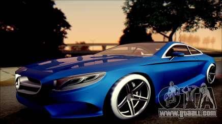 Mercedes-Benz S Coupe Vossen cv5 2014 for GTA San Andreas