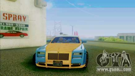 Rolls-Royce Ghost Mansory for GTA San Andreas