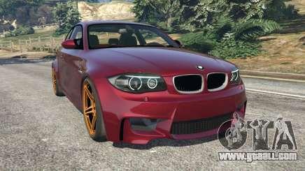 BMW 1M v1.3 for GTA 5
