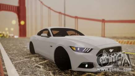 Ford Mustang GT 2015 Stock for GTA San Andreas