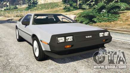 DeLorean DMC-12 for GTA 5