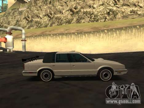 Chrysler New Yorker 1988 for GTA San Andreas engine