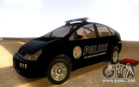 Karin Dilettante Police Car for GTA San Andreas