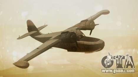 Grumman G-21 Goose N56621 Rusty for GTA San Andreas