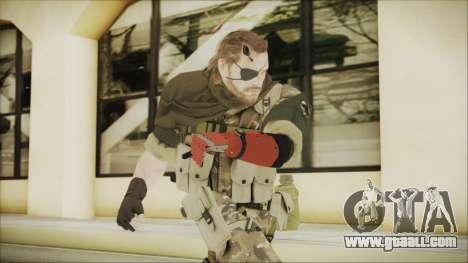 MGSV Phantom Pain Snake Scarf Wetwork for GTA San Andreas