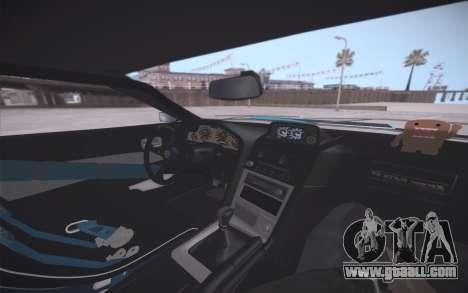 Elegy DRIFT KING GT-1 (Stok wheels) for GTA San Andreas engine