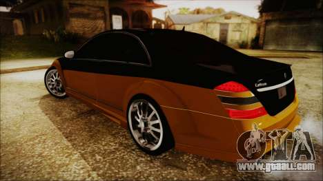 Carlsson Aigner CK65 RS v2 for GTA San Andreas back left view