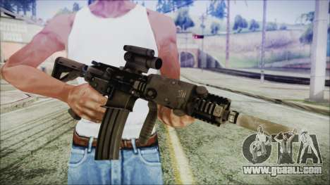 MK18 SEAL for GTA San Andreas third screenshot