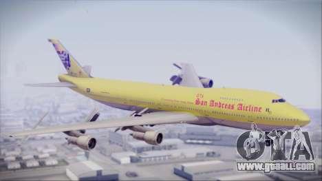 Boeing 747-200 GTA SA Airline for GTA San Andreas
