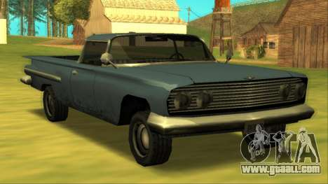 Voodoo El Camino v1 for GTA San Andreas