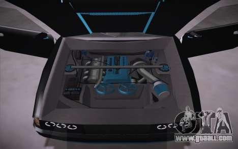 Elegy DRIFT KING GT-1 (Stok wheels) for GTA San Andreas back view