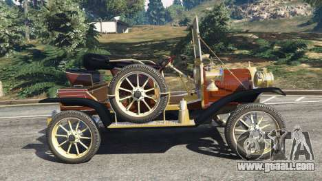 GTA 5 Ford Model T [two colors] left side view