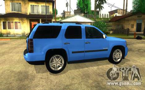 Chevrolet Tahoe for GTA San Andreas right view