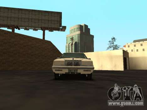 Chrysler New Yorker 1988 for GTA San Andreas inner view