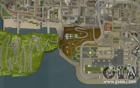 Stelvio Pass Drift Track for GTA San Andreas forth screenshot