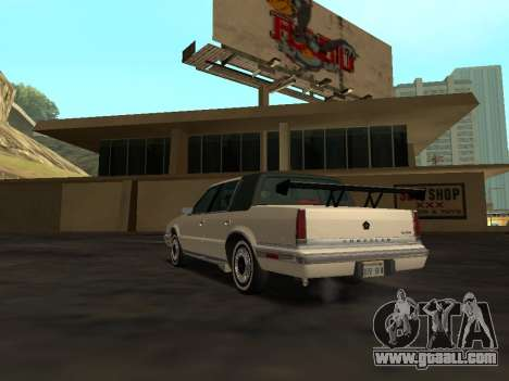 Chrysler New Yorker 1988 for GTA San Andreas interior