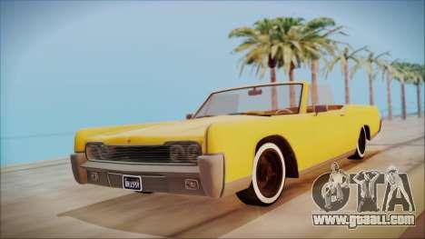 GTA 5 Vapid Chino Bobble Version for GTA San Andreas