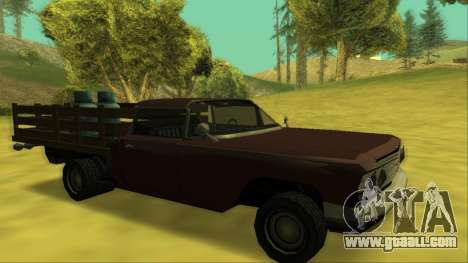 Voodoo El Camino v2 (Truck) for GTA San Andreas wheels