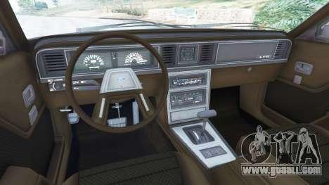 GTA 5 Ford LTD LX 1985 right side view