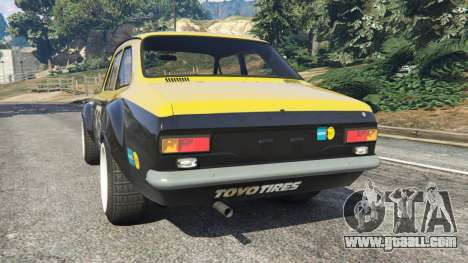 GTA 5 Ford Escort MK1 v1.1 [26] rear left side view