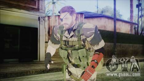 MGSV Phantom Pain Snake Normal Tiger for GTA San Andreas