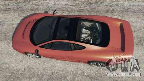 GTA 5 Jaguar XJ220 v1.0 back view