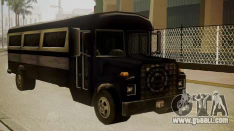Bus III for GTA San Andreas back left view
