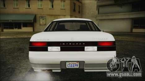 GTA 5 Karin Intruder IVF for GTA San Andreas back view