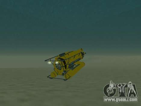 Submersible from GTA V for GTA San Andreas