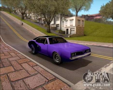 Clover Barracuda for GTA San Andreas upper view