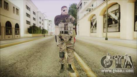 MGSV Phantom Pain Snake Scarf Wetwork for GTA San Andreas second screenshot