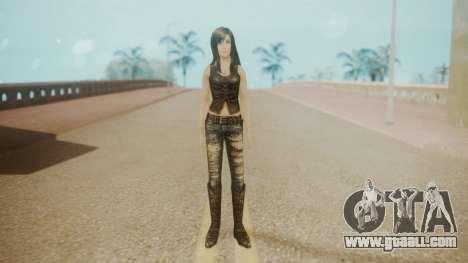 Tifa Black for GTA San Andreas second screenshot
