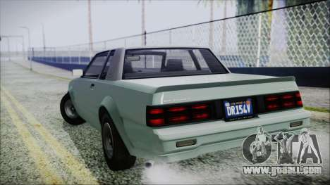 GTA 5 Willard Faction for GTA San Andreas left view