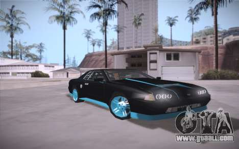 Elegy DRIFT KING GT-1 (Stok wheels) for GTA San Andreas