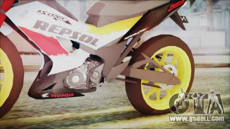 Honda Sonic 150R AntiCacing for GTA San Andreas right view