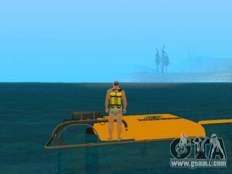 Submersible from GTA V for GTA San Andreas side view