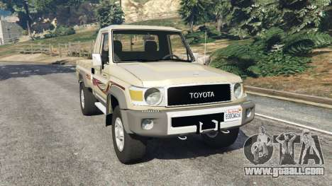 Toyota Land Cruiser LX Pickup 2016 for GTA 5