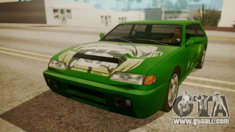 Flash FnF Skins for GTA San Andreas left view