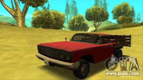 Voodoo El Camino v2 (Truck) for GTA San Andreas